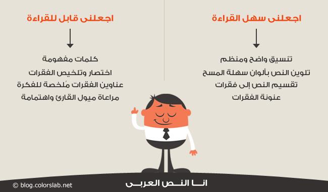 انقرائية النصوص العربية على الويب