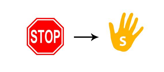 تخيل لو تم تغير رموز الشاخصات المرور ؟