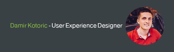 Damir Kotoric - User Experience Designer