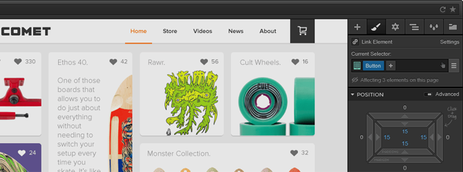 واجهة برنامج Adobe Reflow